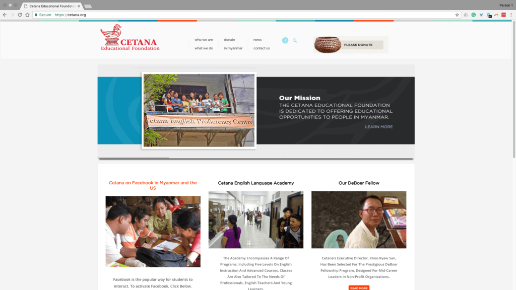 Techretaries Featured Client: Chenault Spence, President, Cetana Educational Foundation